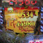 534連荘44980発 ☆CRFタイガーマスク3