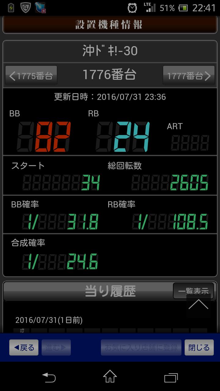 値 2 天井 期待 沖 ドキ